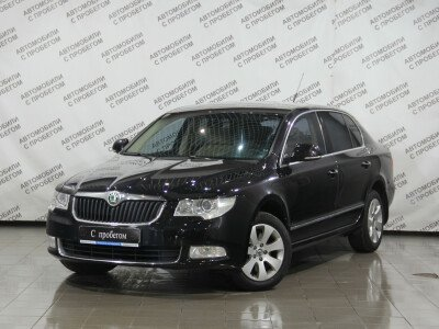 Skoda Superb II [2008 - 2013], 2009 года, 118400 км. № 0