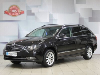 Skoda Superb II Рестайлинг [2013 - 2015], 2014 года, 52300 км. № 0