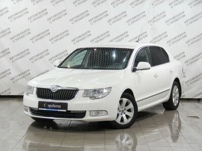 Skoda Superb II [2008 - 2013], 2010 года, 117100 км. № 0
