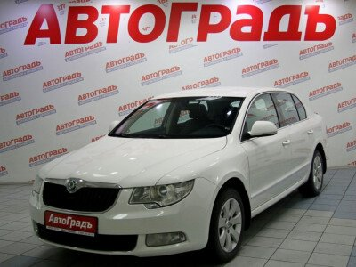 Skoda Superb II [2008 - 2013], 2012 года, 96500 км. № 0