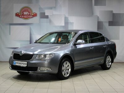 Skoda Superb II [2008 - 2013], 2011 года, 71400 км. № 0