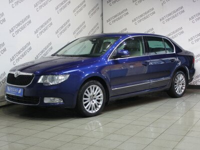 Skoda Superb II [2008 - 2013], 2009 года, 115700 км. № 0