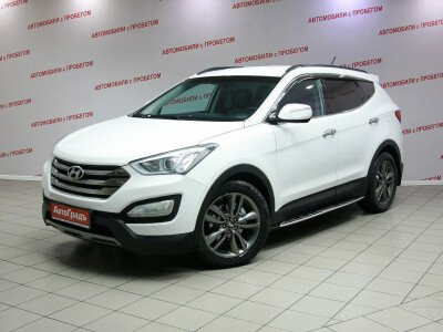 Купить Hyundai Santa Fe 2.2d AT (197 л.с.) 4WD 2012 года с пробегом в кредит - за - 786 000 руб. CARRO