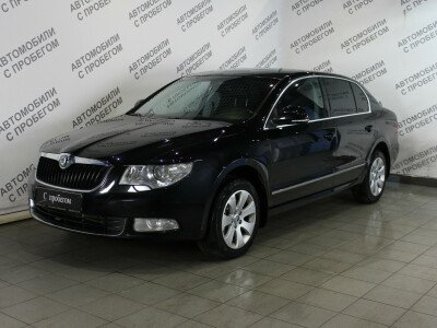 Skoda Superb II [2008 - 2013], 2009 года, 116200 км. № 0