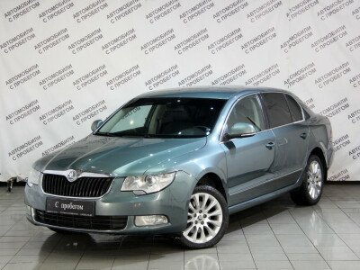 Skoda Superb II [2008 - 2013], 2010 года, 107100 км. № 0