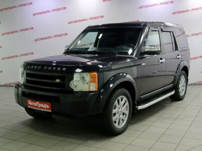 Land Rover Discovery III [2004 - 2009], 2004 года, 119436 км. № 0