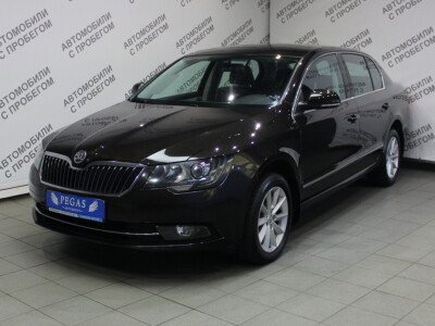 Skoda Superb II Рестайлинг [2013 - 2015], 2013 года, 76500 км. № 0