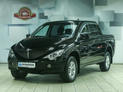 SsangYong Actyon Sports I [2006 - 2012], 2010 года, 98000 км. № 0